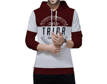 Tripr Typography Men Hooded Neck Multicolor T-Shirt