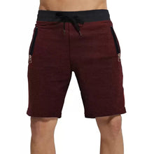 Tripr Solid Men Multicolor Regular Shorts with zipper