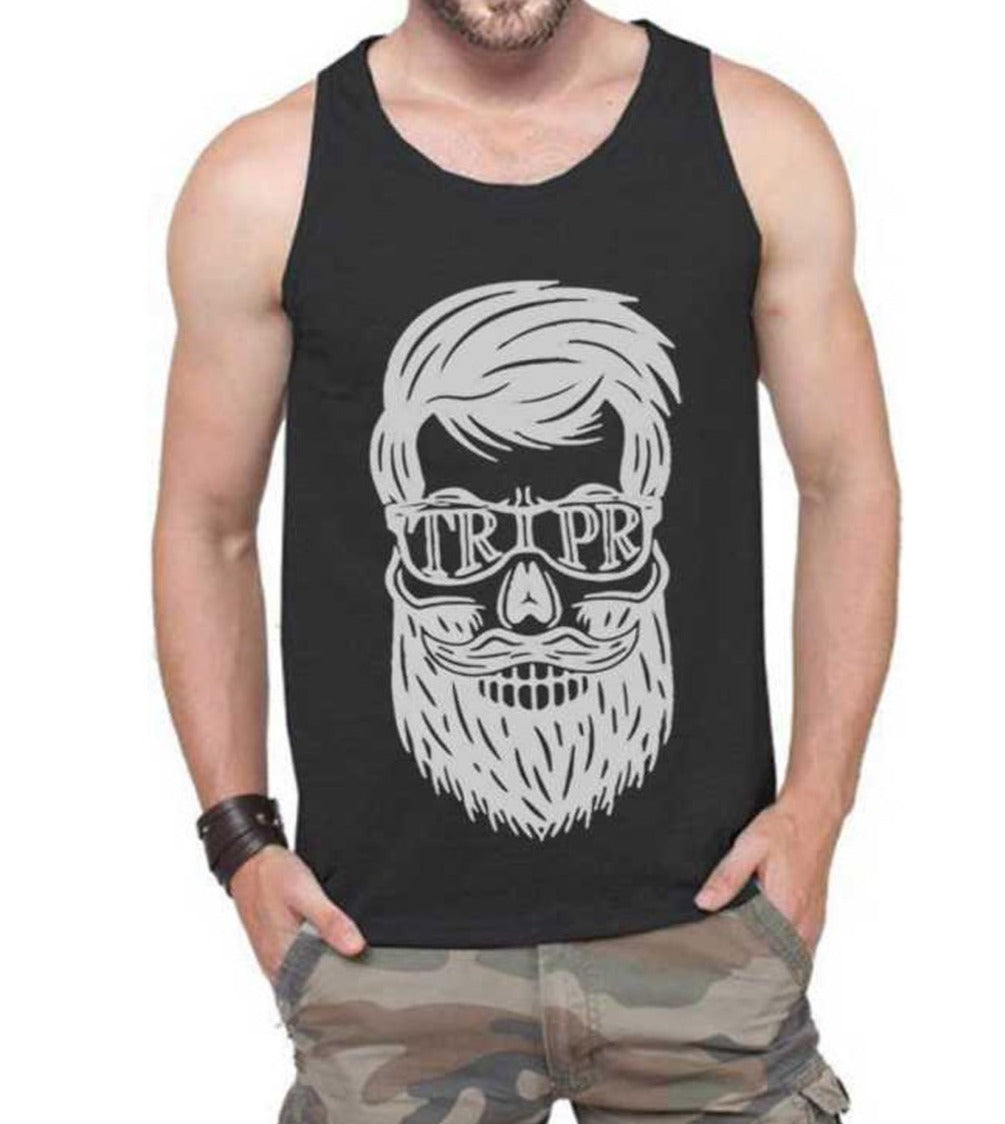 Tripr Men Black Vest