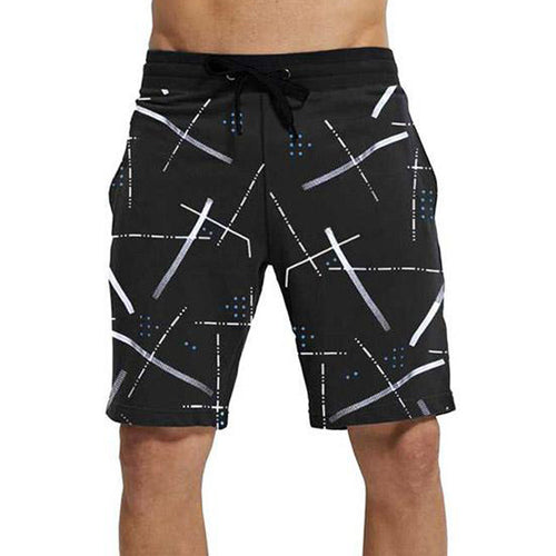 Tripr Printed Men Black Regular Shorts