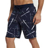 Tripr Printed Men Blue Regular Shorts