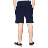 Tripr  Short For Kids Casual Printed Cotton Blend  (Dark Blue, Pack of 1)