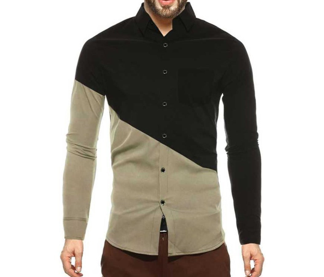 Tripr Men's Full Sleeves Shirt