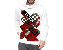 Tripr Printed Men Turtle Neck White T-Shirt