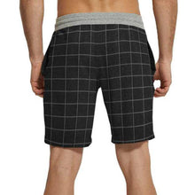 Tripr Checkered Men Black Regular Shorts