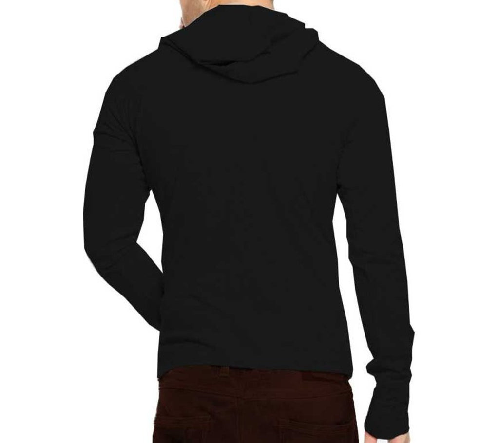 Tripr Men's Hooded Mask Tshirt