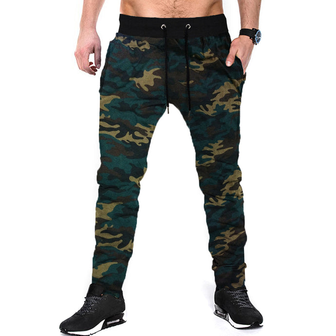 Tripr Camouflage Men Multicolor Track Pants