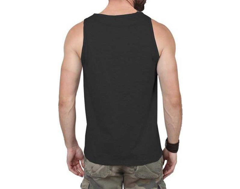 Tripr Men's Tank Top Black