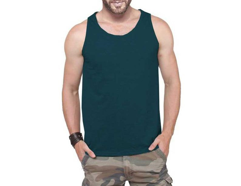 Tripr Men's Tank Top Green