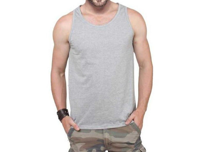 Tripr Men's Tank Top Grey Melange