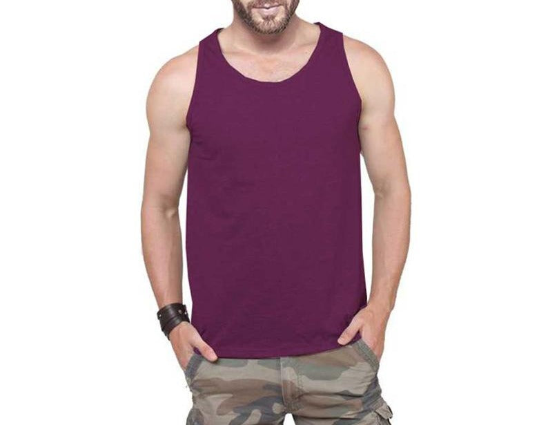Tripr Men's Tank Top Maroon