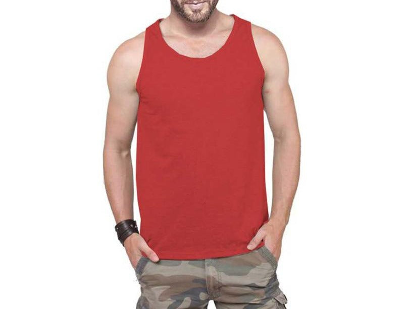 Tripr Men's Tank Top Red