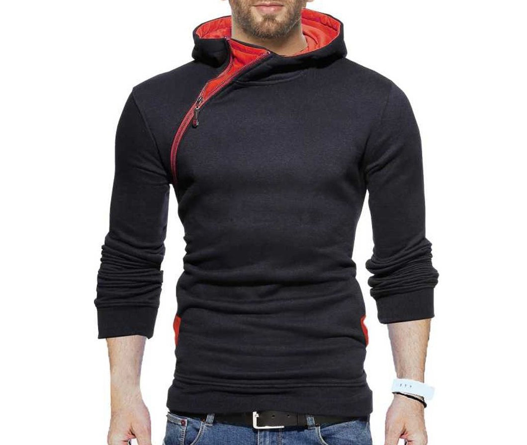 Tripr Full Sleeve Self Design Men Sweatshirt