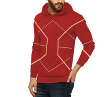 Tripr Full Sleeve Geometric Print Men Sweatshirt