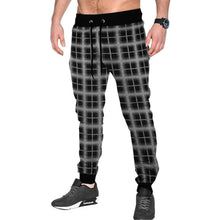 Tripr Checkered Men Black, Grey Track Pants