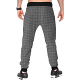 Tripr Checkered Men Grey Track Pants