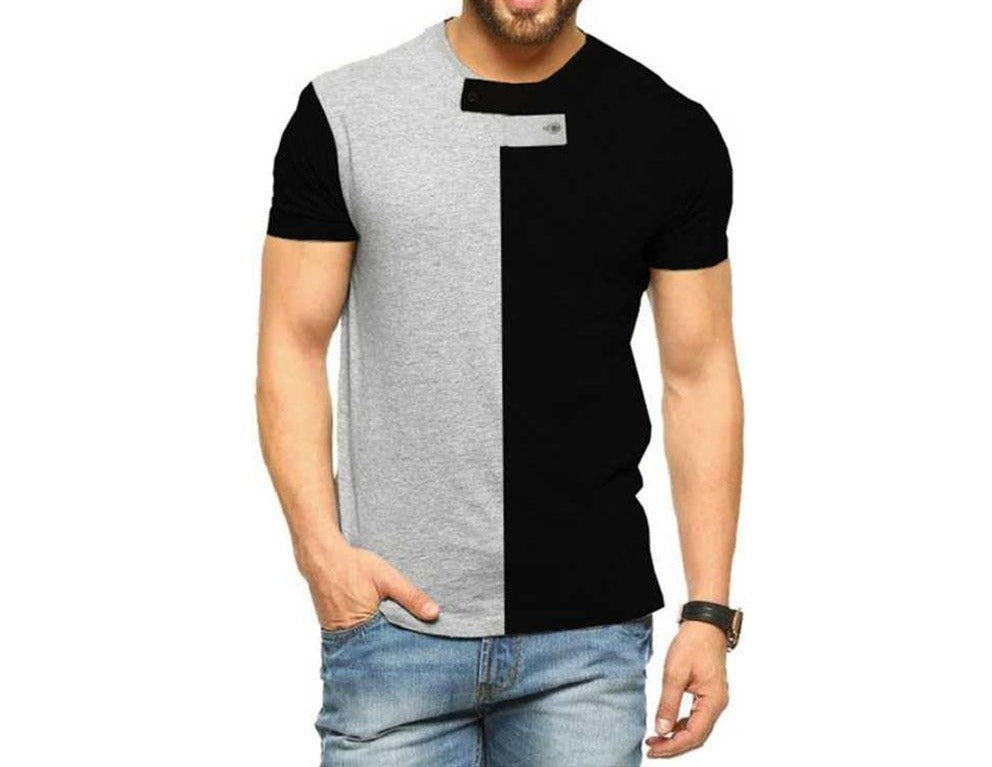 Tripr Solid Men Round Neck T-Shirt