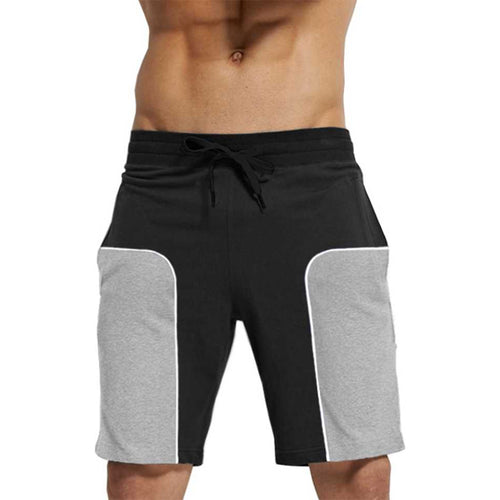 Tripr Color Block Men Black, Grey Regular Shorts