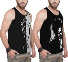 Tripr Men Tank  (Pack of 2)