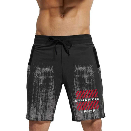 Tripr Printed Men Black Regular Shorts With Zipper