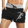 Tripr Graphic Print Men Black Running Shorts