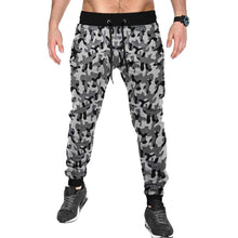 Tripr Camouflage Men Black, Grey Track Pants