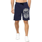 Tripr Printed Men Dark Blue Regular Shorts