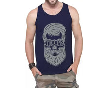 Tripr Men Dark Navy Beard Vest