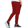 Tripr Striped Men  Red, Black Track Pants