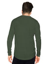 Tripr Printed Men Round Neck Dark Green T-Shirt