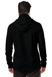 Tripr Printed Men Hooded Neck Black T-Shirt