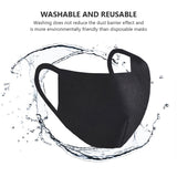 TRIPR REUSABLE COTTON WITH FOAM FACE MASK (PACK OF 500 PIECES) BLACK