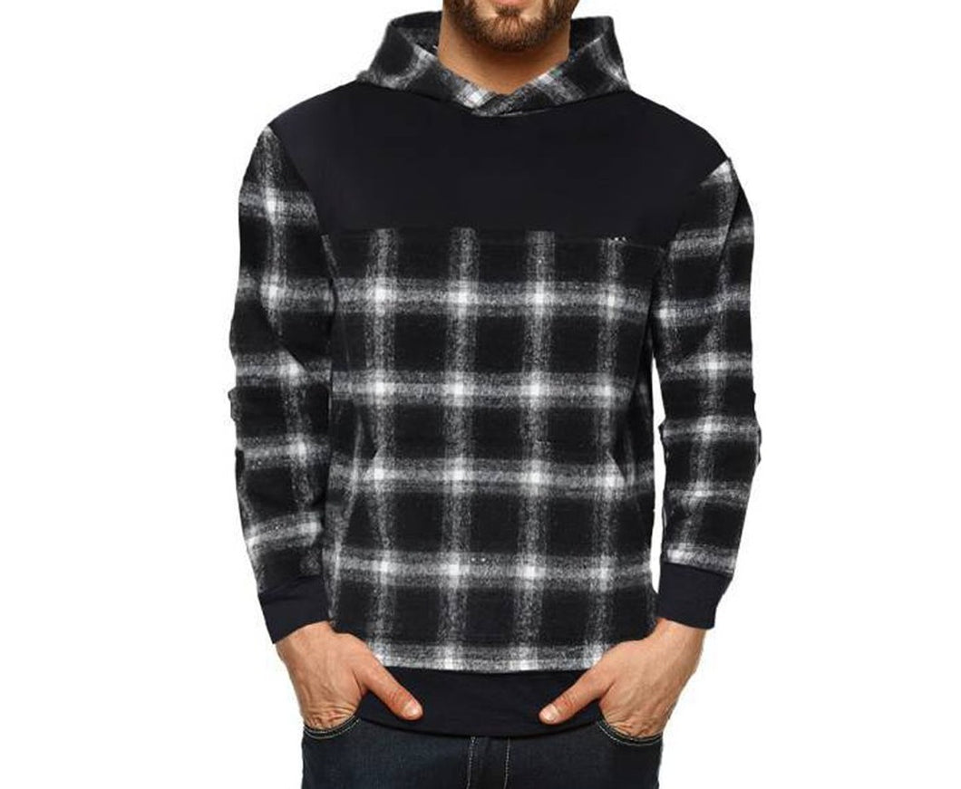 Tripr Full Sleeve Checkered Men Sweatshirt
