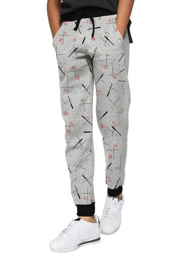 Tripr Track Pant For Kids (Grey, Pack of 1)