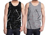 Tripr Men Vest Black Grey  (Pack of 2)