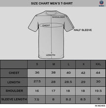 Tripr Men's V-Neck Tshirt Grey Black