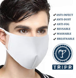 TRIPR REUSABLE COTTON WITH FOAM FACE MASK (PACK OF 500 PIECES)
