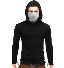 Tripr Men's Hooded Mask Sweatshirt