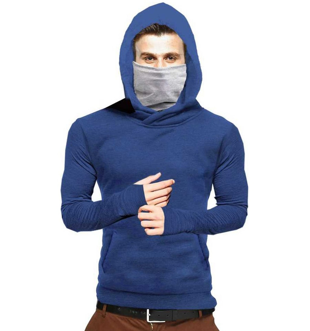 Tripr Full Sleeve Solid Men Sweatshirt