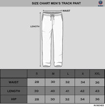 Tripr Printed Men Black Track Pants