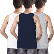 Tripr Vest For Boys Cotton Blend (Multicolor, Pack of 3)