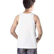 Tripr Vest For Boys Cotton Blend  (White, Pack of 1)