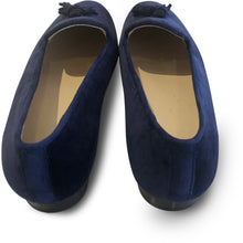The Bosque Alma Loafer Velvet - Navy