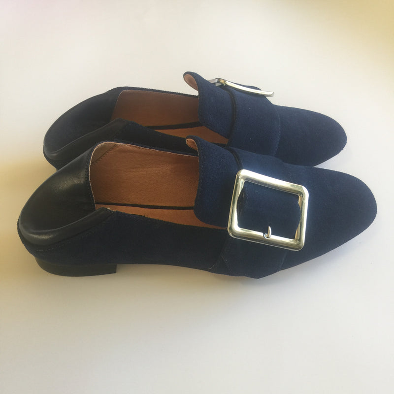Bosque Flex Loafer Suede - Navy