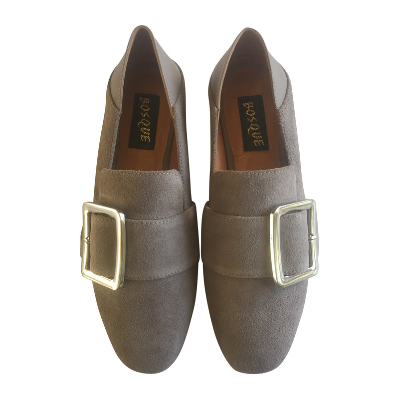 Bosque Flex Loafer Suede - Grey