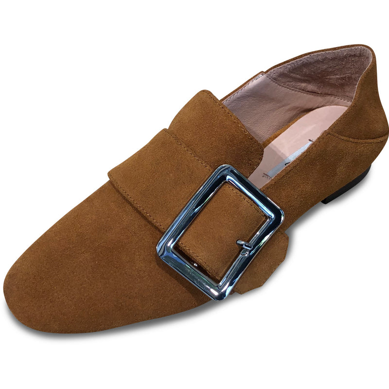 Bosque Flex Loafer Suede - Chestnut