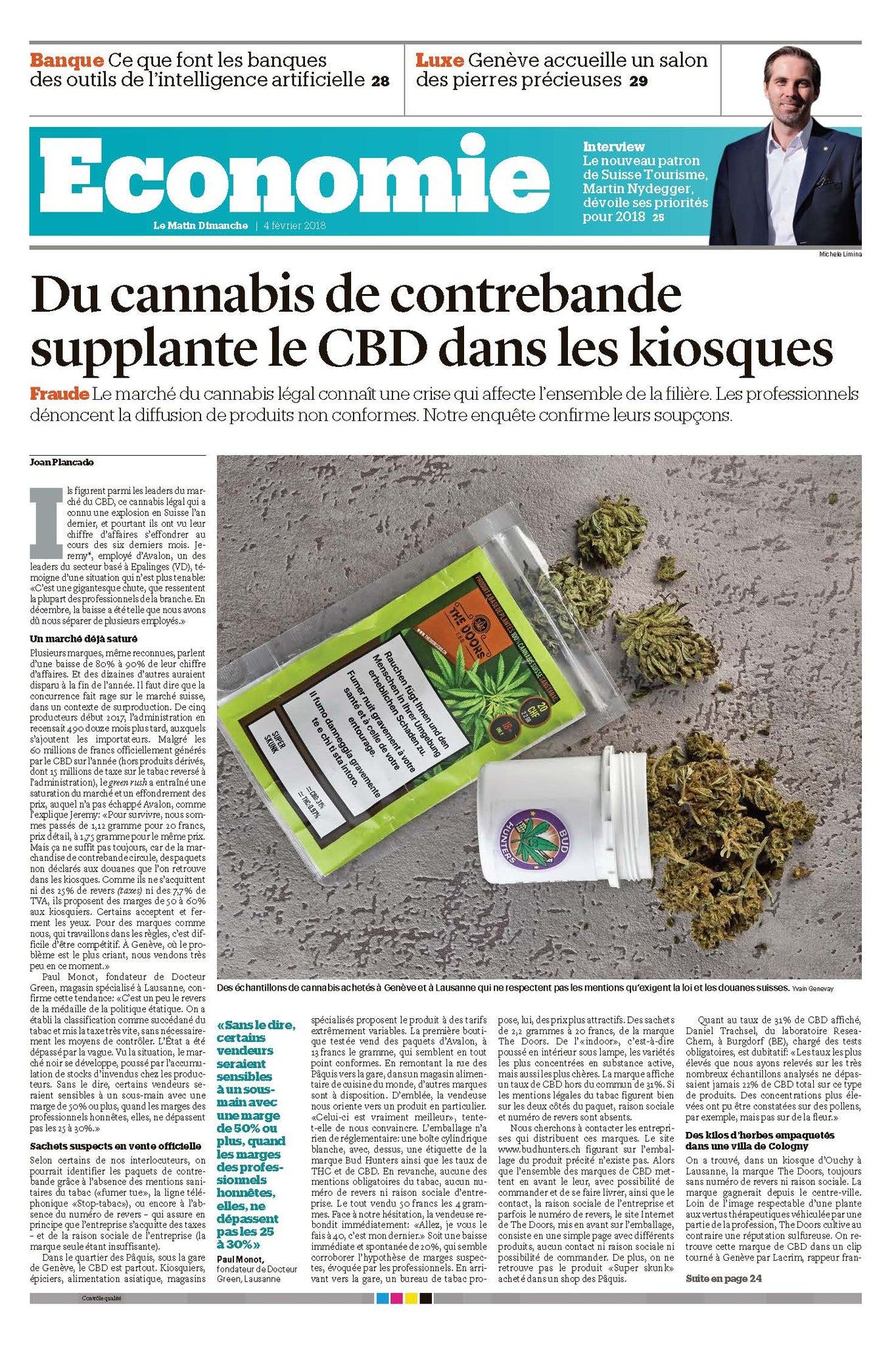 The interview with our co-founder, Victor Mathis, on Bilan newspaper