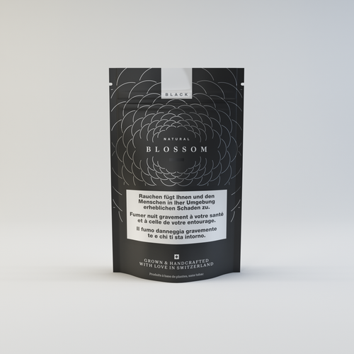 Blossom Black - Single Origin CBD - Blossom Swiss