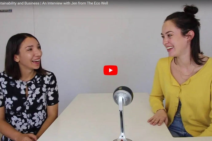 Interview by Kenna from Altilis Beauty of Jen from The Eco Well about science, sustainability and business.