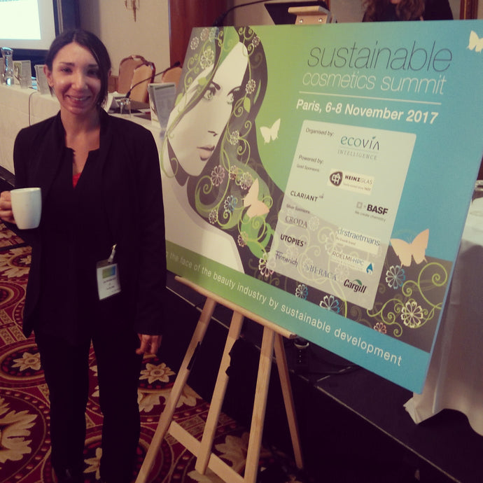 The Eco Well goes to France for the Sustainable Cosmetic Summit